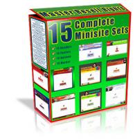 15 Complete Mini Site Sets