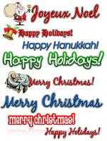 Holiday ClipArt Collection Pack