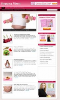 Pregnancy Fitness Niche Blog