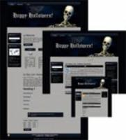 Halloween Site Template 1