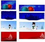 Christmas Header Package