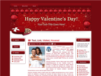Hearts-N- Choc- WP Theme