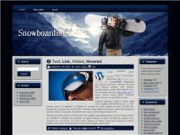 Snow Boarding WP Theme 4532