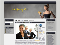 Keeping Fit Theme Wordpress Blog...