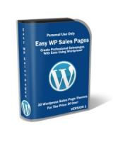 Easy Wordpress Sales Pages