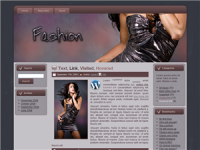 Fashion Themed Wordpress Blogger...