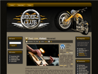 Bikers Club WP Theme