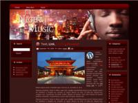 WP Theme - Night Music
