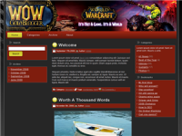 WP Theme - World Of Warcraft Blo...