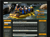 WP Theme - White Water Rafting W...