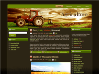 WP Theme - Tractor WP Theme