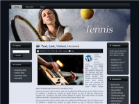 WP Theme - Tennis