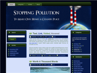 WP Theme - Pollution Theme