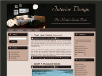 WP Theme - Living Room Theme