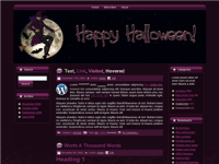WP Theme - Halloween Witch