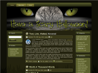 WP Theme - Halloween Scary