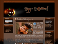 WP Theme - Halloween Pumpkin