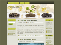 WP Theme - Green Tea WP Theme