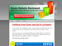 WP Theme - Forex Theme Green