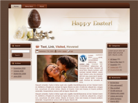 WP Theme - Easter Parade Choccy