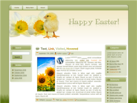 WP Theme - Easter Parade Chick