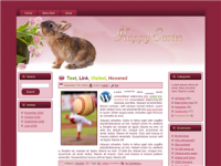 WP Theme - Easter Parade Bunny