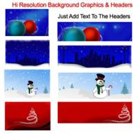 Pretty Christmas Graphics