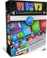 Premium Web Elements Triple Pack...