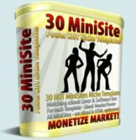 30 Mini Site Templates MRR 01