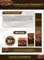 Templates - Chocolate Desserts