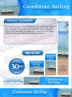 Templates - Catamaran Sailing