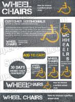 Templates - Wheelchair