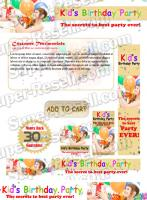 Templates - Kid`s Birthday party