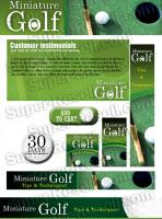 Templates - Miniature Golf