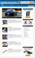 Speeding Ticket Secrets Niche Bl...