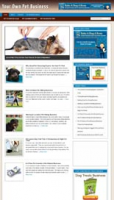 Pet Business Niche Blog