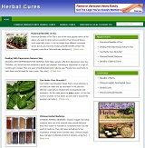Herbal Cures Niche Blog