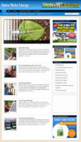Home Energy Niche WordPress Blog...