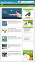 Tennis Playing Niche WordPress B...
