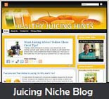 Healthy Juicing Niche Blog