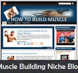 Muscle Building Niche Blog