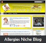 Allergies Niche Blog