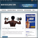 Body Building Blog