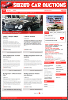 Seized Car Auction Niche Blog