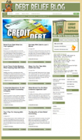 Debt Relief Niche Blog