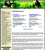 Paint Ball Website