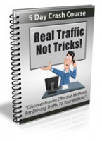 Real Traffic Not Tricks Newsletter