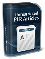 Unrestricted PLR Articles