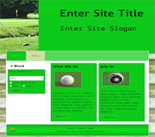 Golf Website Templates ( 2 )