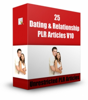 25 Dating And Relationship PLR Articles V 10